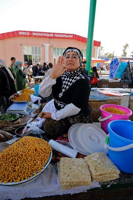 Local Market in Uzbekistan