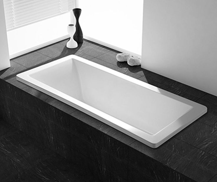 Indbygget badekar