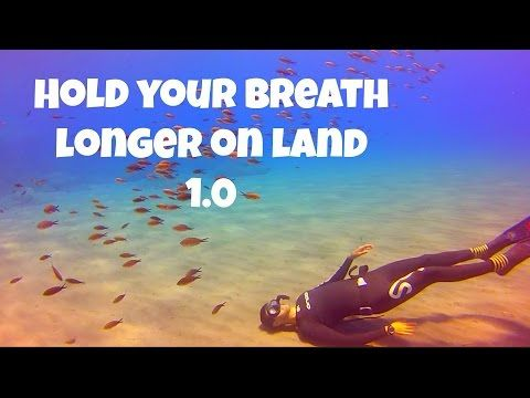 Freediving How to hold your breath longer - Dry static - YouTube