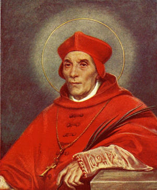 Cardinal St John Fisher Pray for us St. John and from evilness that hopes to eradicate the sanctity of marriage or further victimize the female race.  Pray for us St. John.