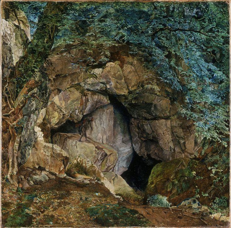 pre-raphaelisme:    The Dragons Den by James Campbell 1854
