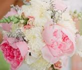 Preppy Pink And Navy Wedding