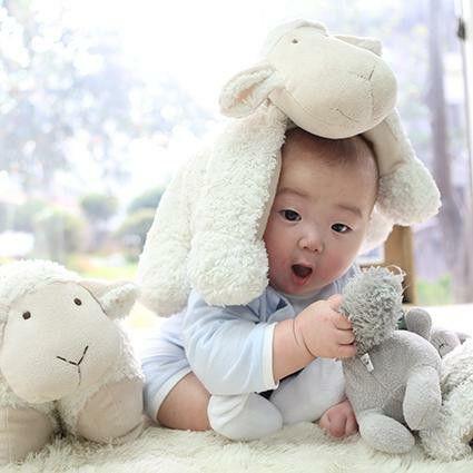 Cute baby #song #mingukie #superman #daehan #minguk #manse