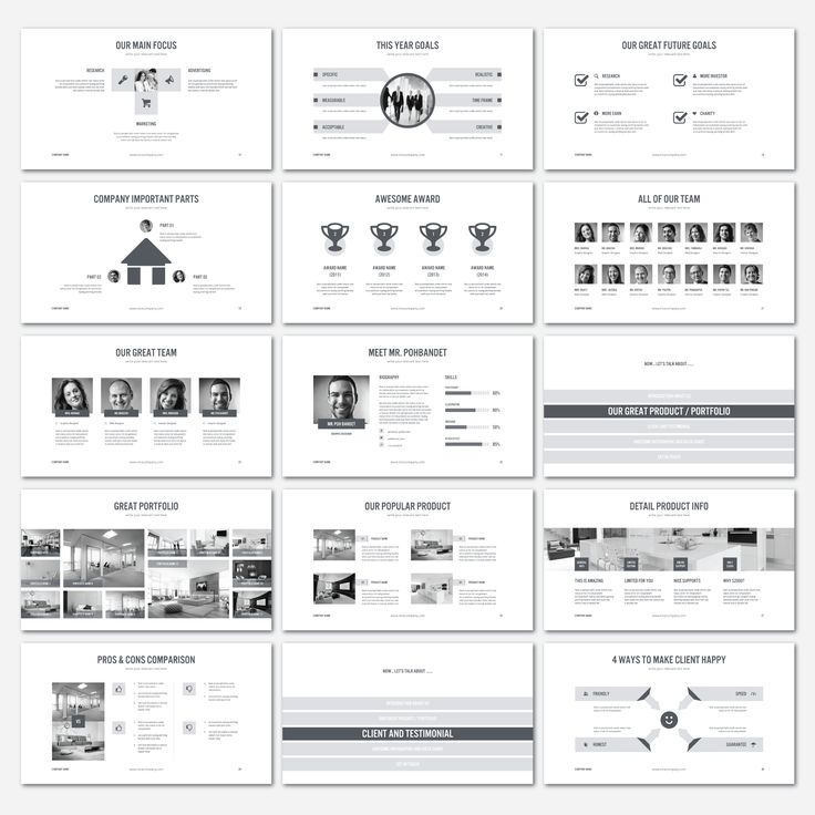 PowerPoint Business Presentation V.2 by shafura.studio on Creative Market