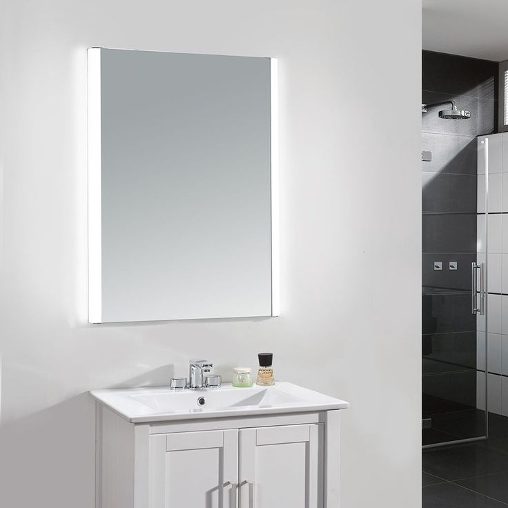 Style and storage come together in this Villon LED mirror cabinet. The single door has an IR sensor to operate the 6500K light, and it runs on standard household voltage.