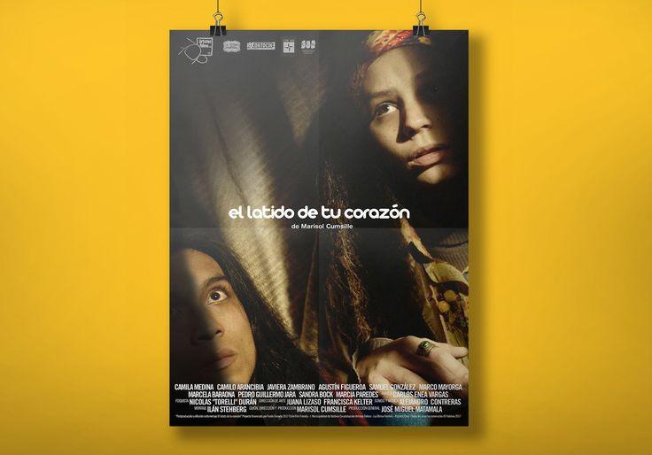 """AFICHE cortometraje """"El Latido de tu Corazón"""" de Marisol Cumsille. Artistas Felices, 20117"""