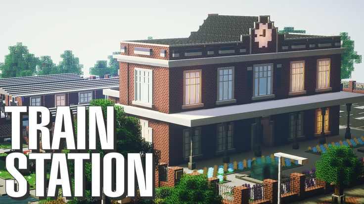 Minecraft | Classic British Train Station Build [Map Download]