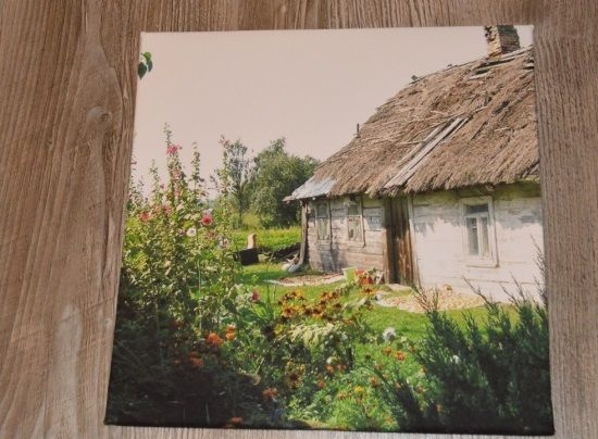 old house picture print on canvas printed in : www.canvasfactory.pl facebook.com/canvasfactorypl