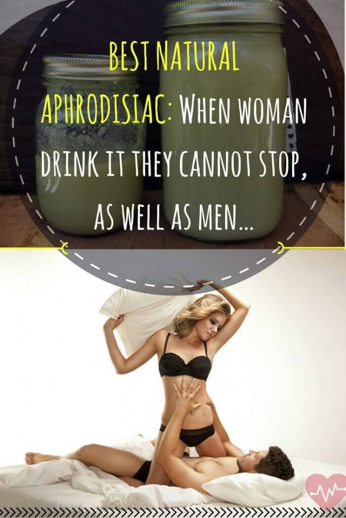 BEST NATURAL APHRODISIAC: WHEN WOMAN DRINK IT THEY CANNOT STOP, AS WELL AS MEN…