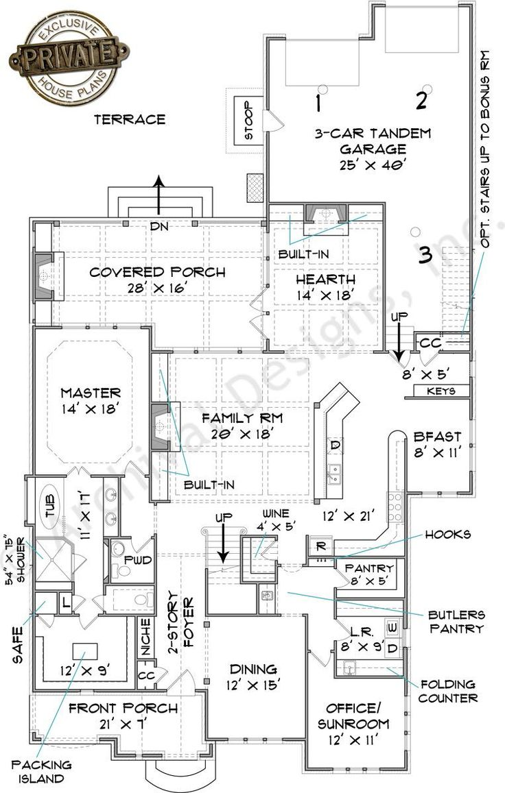 742 Best New Home Images On Pinterest House Floor Plans Dream Part 92