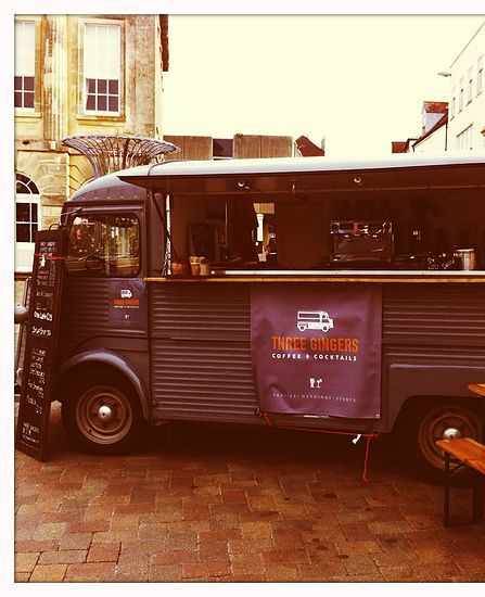 Three gingers| Our story| coffee van| mobile bar| hampshire andover