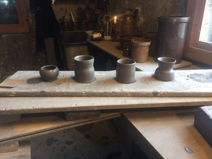 My first pottery course