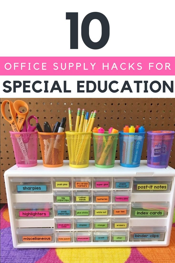 Classroom Organization Ideas For Special Education ~ Best special education organization ideas on pinterest