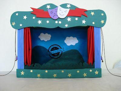 """El Baúl de Elveawen: Teatro de marionetas """"Se abre el telón"""""""