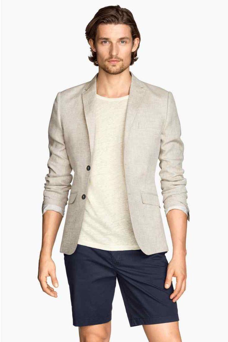 Lněné sako | H&M