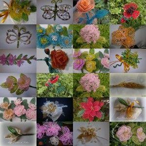 tutorial fiori e bomboniere di perline  ¡ SORPRESA ¡ con excelentes y claros patrones