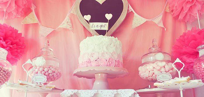 @cindylu42 Cute ideas. :) Pink Fairytale Baby Shower + Birthday Party