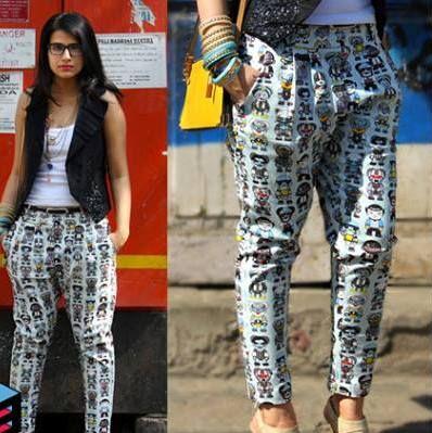 Minion Pants blue colour