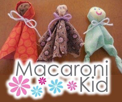 MACARONI CRAFTS: CREATE YOUR OWN LEAVINGS DOLL | Macaroni Kid