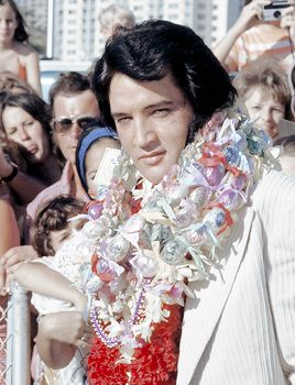 ELVIS PRESLEY Hawaii 1973