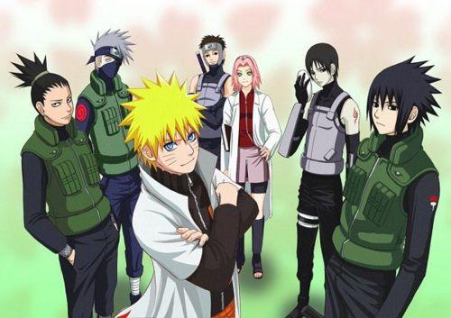 Naruto, Shikamaru, Sasuke, Sai, Sakura, Kakashi | Naruto | Pinterest ...