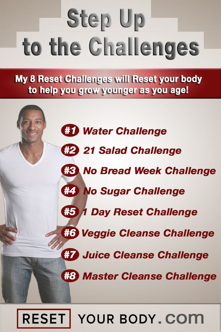 The 8 Reset Challenges! - Reset Your Body with Terry GivensReset Your Body with Terry Givens