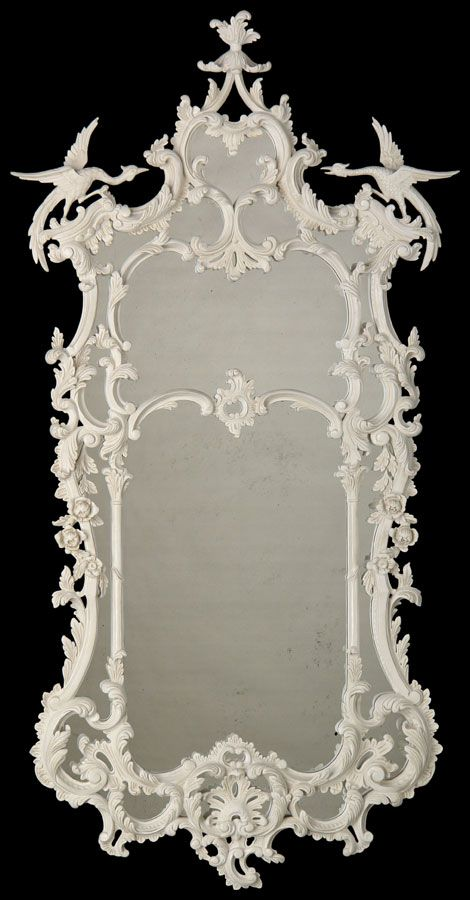 Chinese Chippendale George III (C1760) Mirror (MR6) in Chambord (M7D) finish. 780mm wide x 1520mm high x 80mm deep.