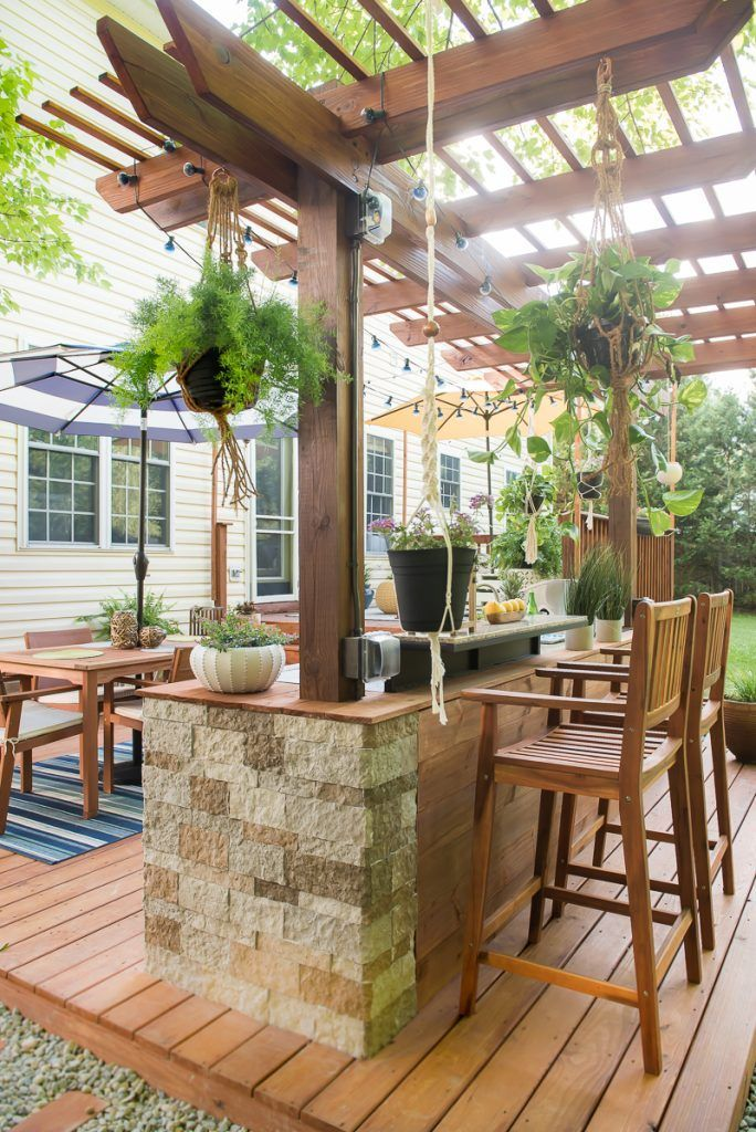 amazing Outdoor Kitchen Designs Diy Part - 19: DIY Outdoor Kitchen you want to see! #outdoorkitchendesigns