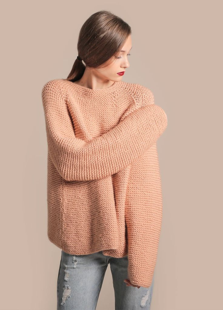 Kit de tricot meriwool pullover Canal Sweater