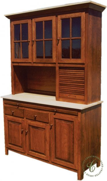Sustainable forestry affords our Amish artisans a continuous supply of domestic hardwood from which to build items like our Alvar Shaker China Cabinet.