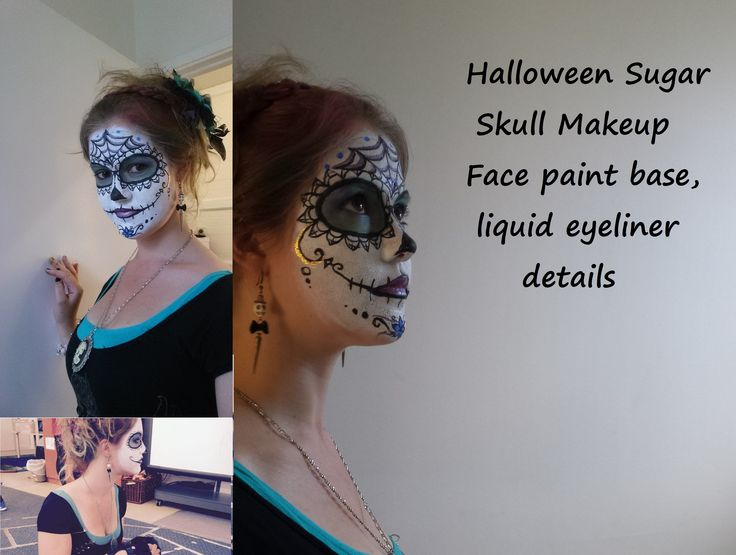 I had SO MUCH FUN painting my face