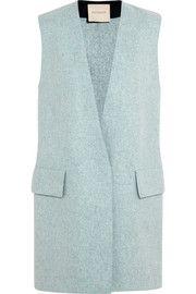 Roksanda IlincicCambray wool-felt vest