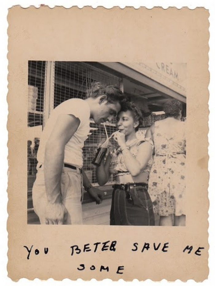 Vintage Couple via The Little Deer: Picture, Vintage Couple, Photos Couples, Art, Photography Vintage, Things, Save Me
