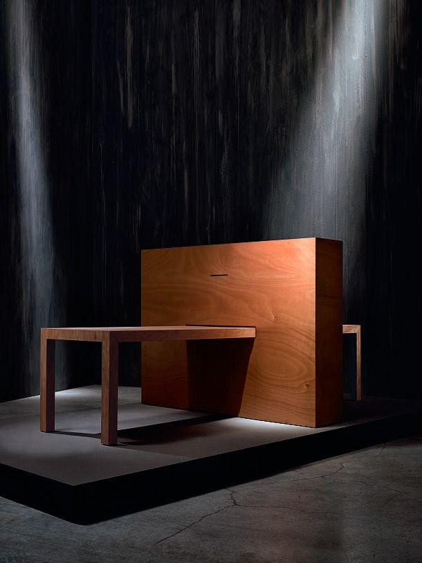 Mesa Meta-fora, diseñada por Agata Monti para Adele-C