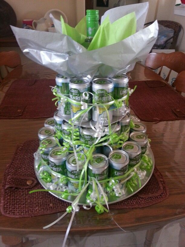 Lime-A-Rita Beer Cake... Hmm... this would be good for any birthday's. Beats fighting over vanilla or chocolate.