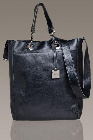RUDSAK Leather Shopping Bag
