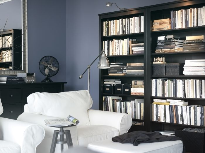 the solid wood of hemnes gives it a natural feel the shelves and feet are ikea living roomliving room