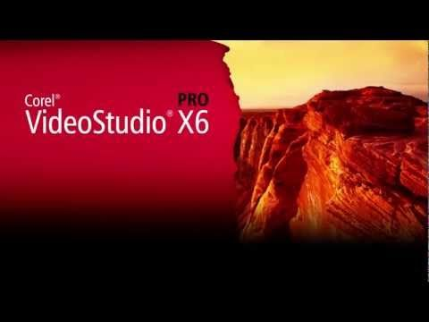 Corel videostudio pro x6 ultimate