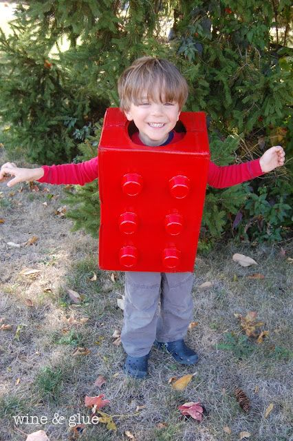 An Easy Homemade Lego Costume! This costume is so ridiculously cheap and simple, that I must admit I am a little ashamed to post it on my...