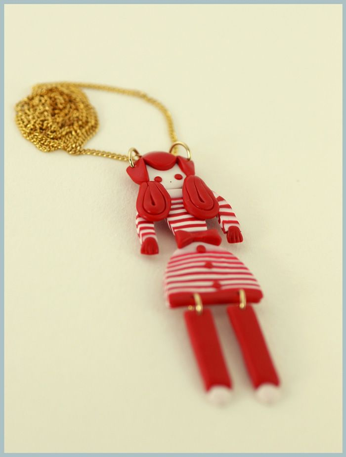 doll necklace: Dolls Necklaces
