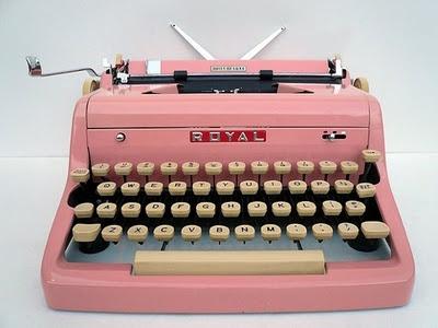 pink typewriter: Pink Typewriter, Favorite Things, Vintage Goodies