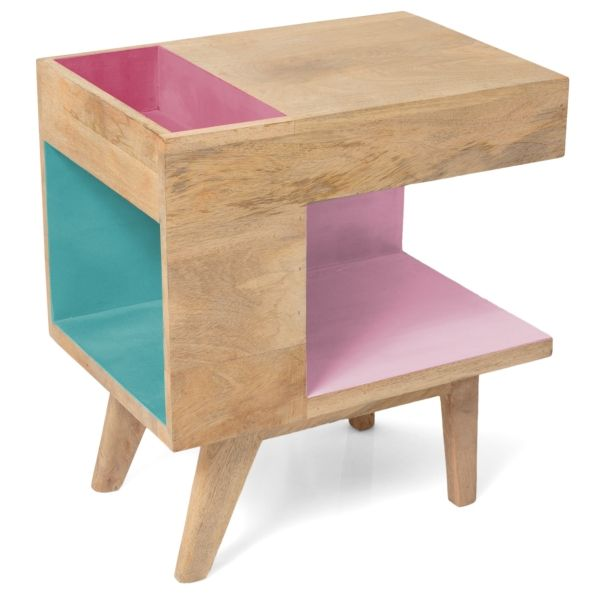 Oliver Bonas Wood Side Table