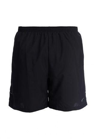 Черные мужские шорты для бега от Nike выполнены из тонкой и легкой ткани Dri-FIT, которая отводит пот от кожи и сохраняет ее сухой во время тренировок. Модель прямого кроя. Детали: эластичный пояс на регулируемом шнурке; два внешних боковых кармана и один внутренний; плотно прилегающая к телу тонкая подкладка-трусы с эластичным кантом; боковые сетчатые вставки для воздухопроницаемости. Для размера 48/50 высота посадки 30 см. http://j.mp/1pNq4cB