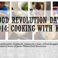 A free online cookbook in honor of Jamie Oliver's #FRD2014! Seven food bloggers cooked healthy meals with their children and compiled the results into a beautiful flipbook to share.