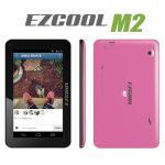 Ezcool M2 Cortex A7 512MB 8GB 7 Pembe (Kılıf Hediyeli)