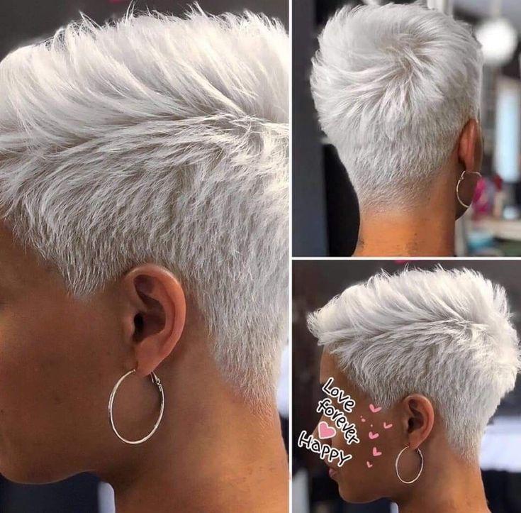 Adoro questo taglio perché mi piace molto corto, ma lo vorrei più corto davanti alle mie orecchie... #ADORO #corto #fronte #Molto #perché