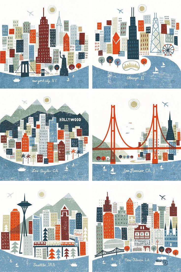 1 Colorful CITIES, Michael Mullan