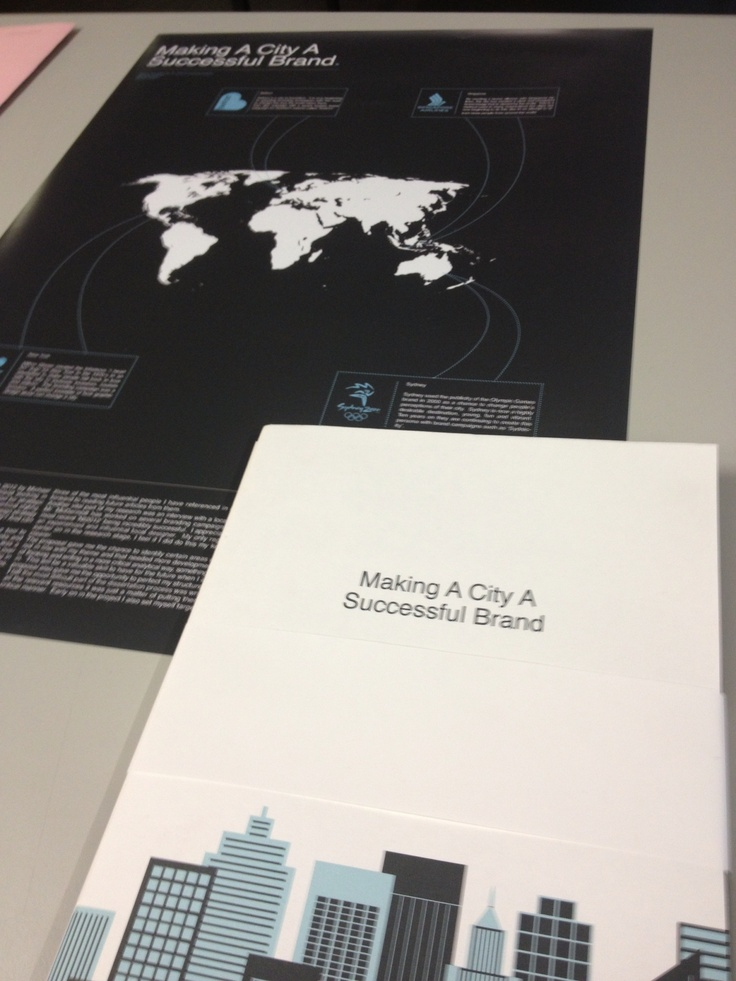 What makes a City a Successful Brand? My dissertation topic.