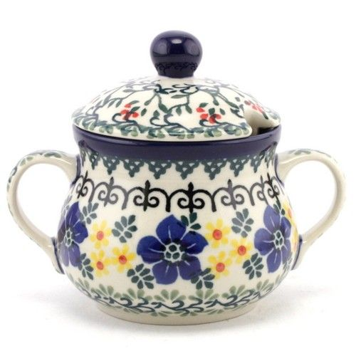 $25.99 Sugar bowl #136 | Slavica Polish Pottery