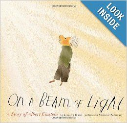On a Beam of Light: A Story of Albert Einstein: Jennifer Berne, Vladimir Radunsky: 9780811872355: Amazon.com: Books
